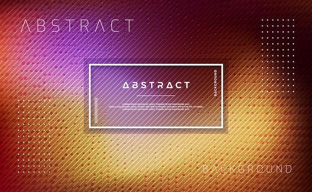 Abstracte achtergrond met getextureerde stippen en lijnen. Premium Vector