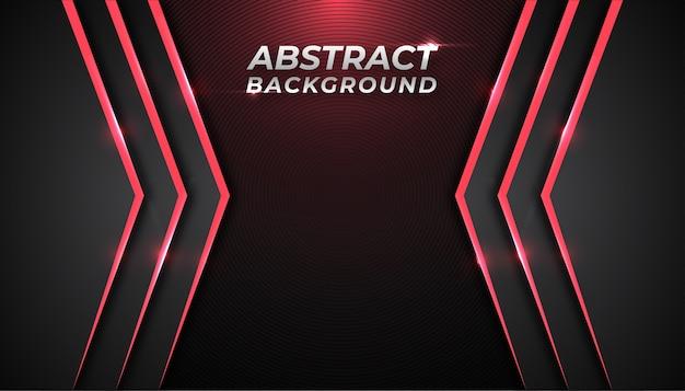 Abstracte achtergrond met gloed rood licht