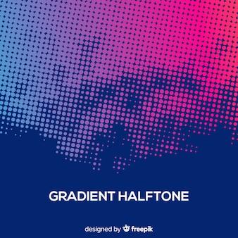Abstracte achtergrond met gradiënt halftone effect