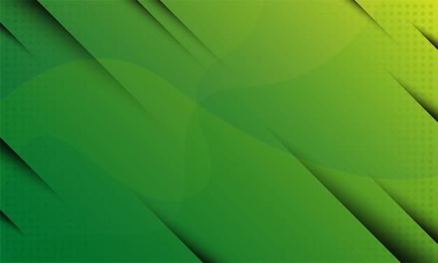 Abstracte achtergrond met groene en gele kleur