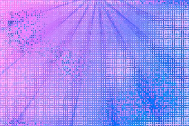 Abstracte achtergrond met halftoon effect