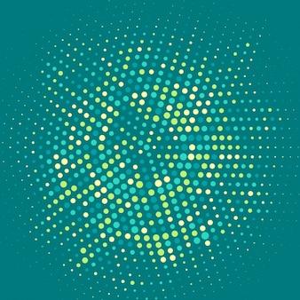 Abstracte achtergrond met halftoonpunten ontwerp