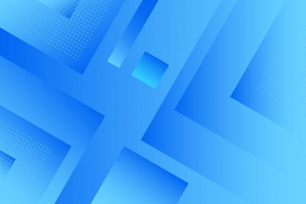 Abstracte achtergrond met kleurovergang blauwe vierkanten
