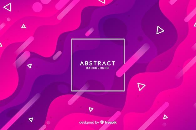 Abstracte achtergrond met kleurovergang elementen