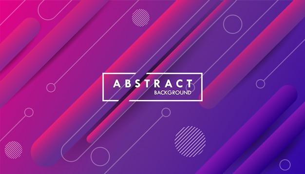 Abstracte achtergrond met kleurovergang met lijnvormen