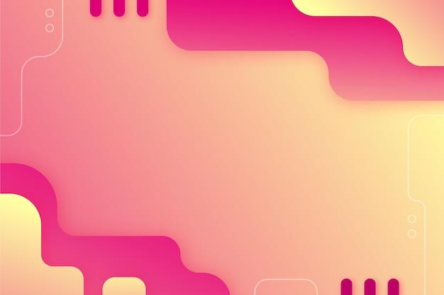 Abstracte achtergrond met kleurovergang met verschillende vormen