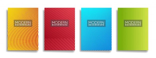 Abstracte achtergrond met kleurovergang ontwerp
