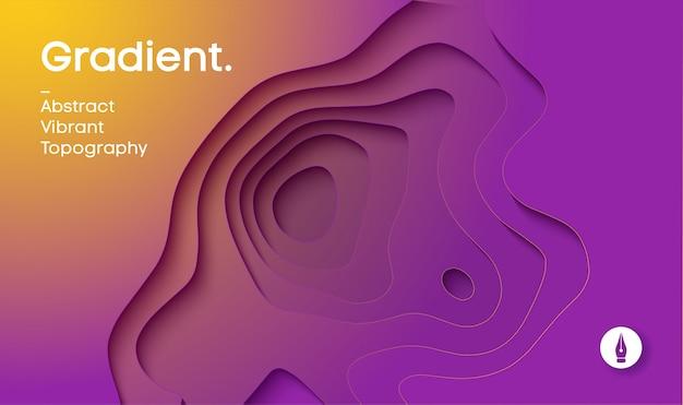 Abstracte achtergrond met kleurovergang vector.