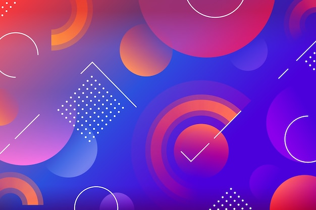 Abstracte achtergrond met kleurovergang