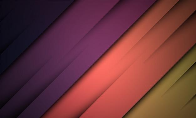 Abstracte achtergrond met kleurrijke en moderne stijl