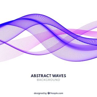 Abstracte achtergrond met kleurrijke golven