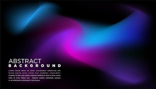 Abstracte achtergrond met kleurverloop in zwarte kleur