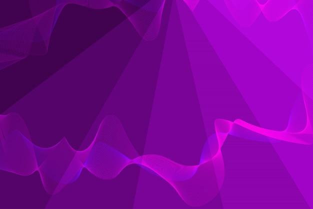 Abstracte achtergrond met lijnen mix in de vorm van golven