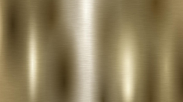 Abstracte achtergrond met metalen textuur in gouden kleur