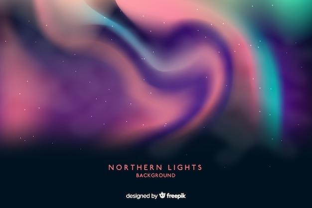 Abstracte achtergrond met noorderlicht