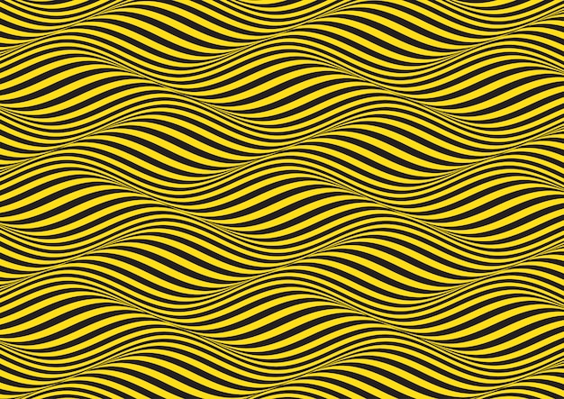 Abstracte achtergrond met optische illusie patroon