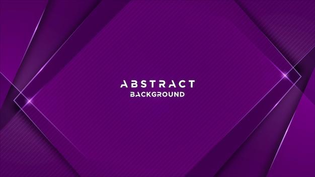 Abstracte achtergrond met overlappende vormen
