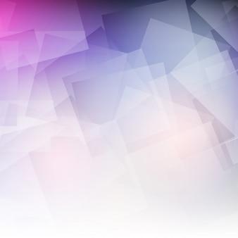 Abstracte achtergrond met pastel geometrisch ontwerp