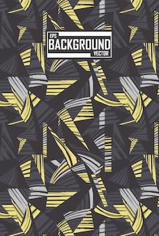 Abstracte achtergrond met patroon van tijger en zebra