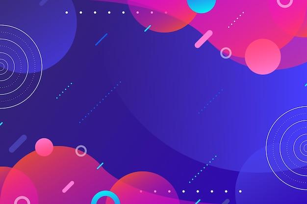 Abstracte achtergrond met ronde vormen