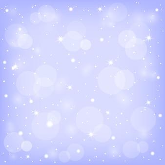 Abstracte achtergrond met sneeuw.