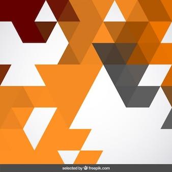 Abstracte achtergrond met terracotta driehoeken
