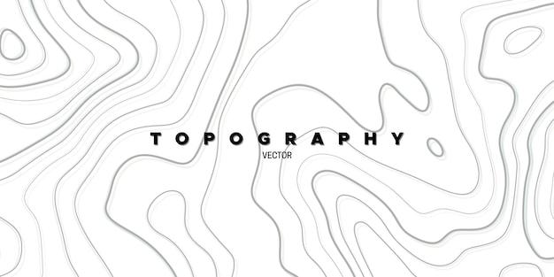 Abstracte achtergrond met topografie-reliëf
