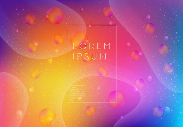 Abstracte achtergrond met verschillende kleuren en lijnen