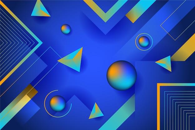Abstracte achtergrond met verschillende vormen