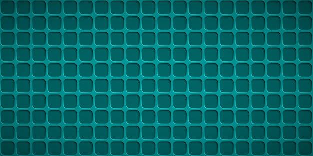 Abstracte achtergrond met vierkante gaten in lichtblauwe kleuren