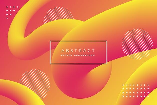 Abstracte achtergrond met vloeibare lineaire vorm