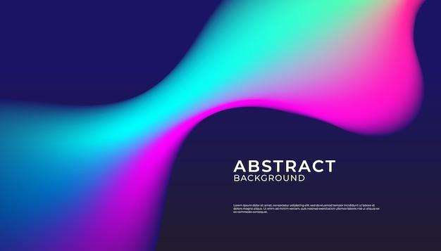 Abstracte achtergrond met vloeibare vorm
