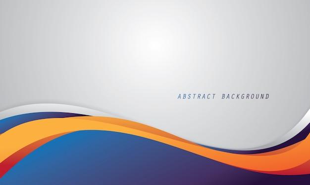 Abstracte achtergrond met vloeiende kleur