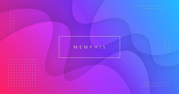 Abstracte achtergrond met vloeiende vormen vector design. minimale affiche. futuristische achtergrond. dynamische 3d-compositie voor banner, landing page, web, cover, brochure.