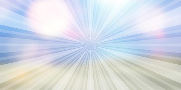 Abstracte achtergrond met zonnestraal ontwerp