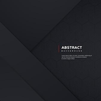 Abstracte achtergrond met zwart verloop