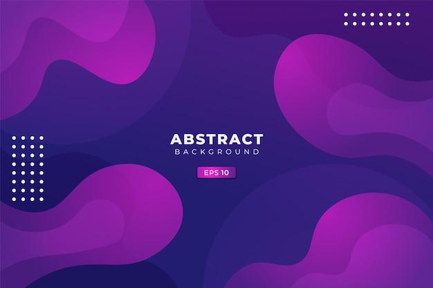 Abstracte achtergrond moderne dynamische vloeistof vorm zacht gradiënt kleurrijk paars blauw
