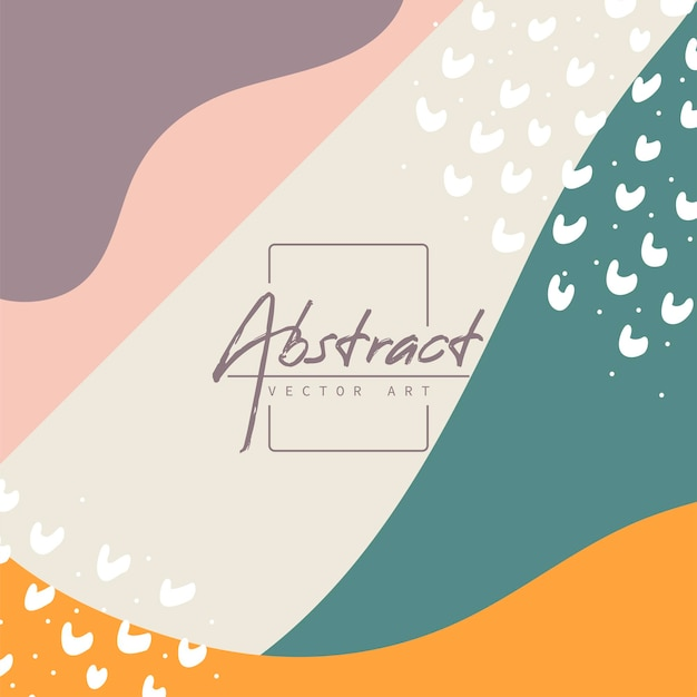 Abstracte achtergrond. moderne ontwerpsjabloon in minimalistische stijl. stijlvolle hoes voor schoonheidspresentatie, brandingontwerp. vector illustratie