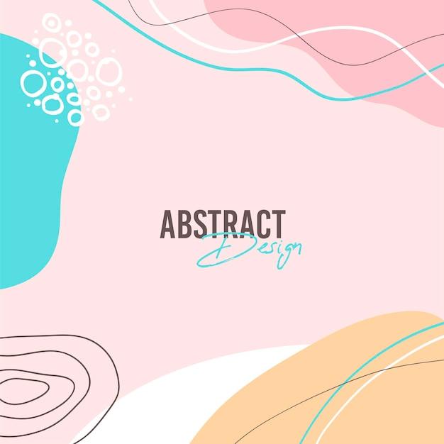 Abstracte achtergrond. moderne ontwerpsjabloon in minimalistische stijl.