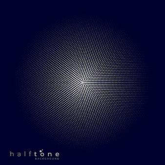 Abstracte achtergrond of patroon met halftone elementen