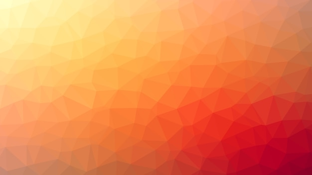 Abstracte achtergrond oranje driehoeksdiamanten