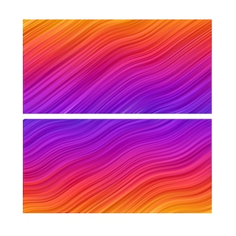 Abstracte achtergrond. stripe line behang. banner set kleurrijk