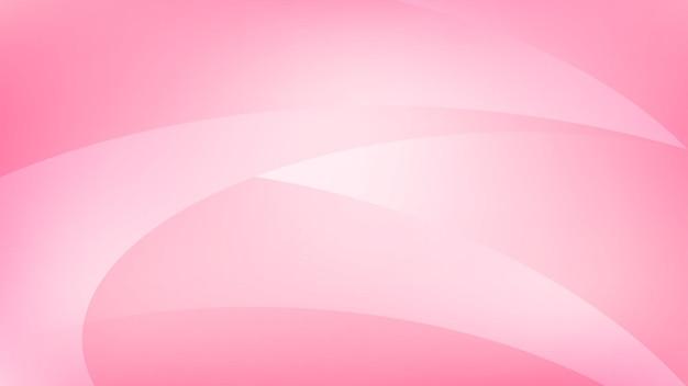 Abstracte achtergrond van gebogen lijnen in roze kleuren
