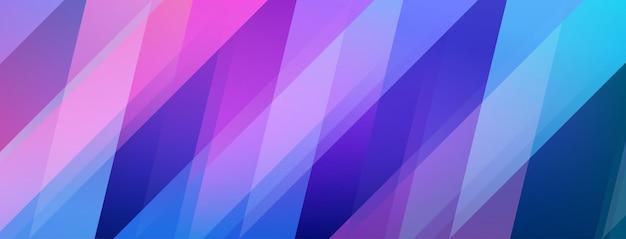 Abstracte achtergrond van gekleurde veelhoeken in paarse en blauwe kleuren