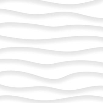 Abstracte achtergrond van golvende lijnen met schaduwen in witte en grijze kleuren