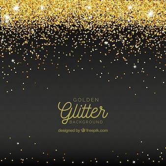 Abstracte achtergrond van gouden glitter