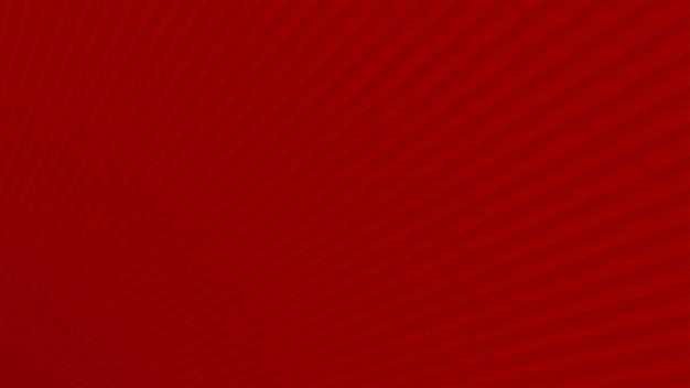 Abstracte achtergrond van gradiëntstralen in rode kleuren