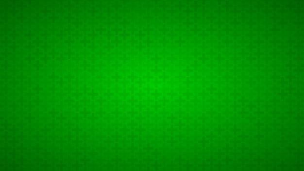 Abstracte achtergrond van kleine kruisjes in groene tinten