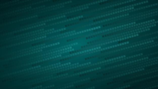 Abstracte achtergrond van kleine vierkanten of pixels in lichtblauwe tinten