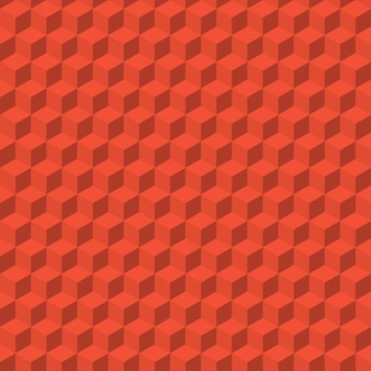 Abstracte achtergrond van kleur kubussen. vector naadloos patroon